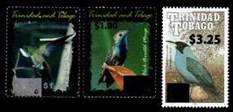 (017) Trinidad + Tobago  Birds / Vögel / Oiseaux / Overprints / Surcharges / Rare / Wanted  ** / Mnh Michel 1059/66 - Trinidad & Tobago (1962-...)