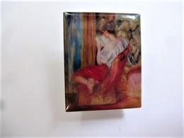 PINS Auguste Renoir La Liseuse / éditions Atlas  Art Peinture Tableau / 33NAT - Celebrities