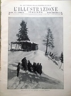 L'Illustrazione Italiana 25 Febbraio 1917 WW1 Valona Ojetti D'Annunzio Maramaldo - Guerra 1914-18