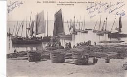Guilvinec Aspect Des Quais Pendant La Pêche Aux Maquereaux - Guilvinec