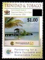 (018) Trinidad + Tobago  Beach / Strand / Plage / Overprints / Surcharges / Rare / Wanted  ** / Mnh Michel 1071 - Trinidad & Tobago (1962-...)