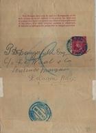 1898 NATAL ,  FAJA POSTAL PARA PRENSA CIRCULADA, DURBAN - DELAGRA BAY ( LOURENZO MARQUÉS ) , LLEGADA - África Del Sur (...-1961)