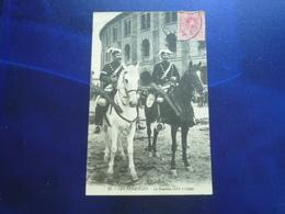 1910 SAN SEBASTIAN LA GUARDIA CIVIL A CABAL  BON ETAT - Guipúzcoa (San Sebastián)
