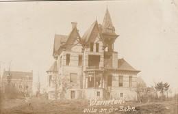 Warneton , Photocarte Allemande  26-11-1916 , Villa An Der Bahn , Guerre 1914-1918 - Comines-Warneton - Komen-Waasten