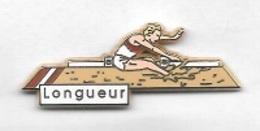 Pin' S  ARTHUS   BERTRAND, Sport  Athlétisme  Longueur - Arthus Bertrand