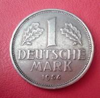 ALLEMAGNE 1 DEUTSCHE MARK   1954 J  N °219D - [ 6] 1949-1990 : GDR - German Dem. Rep.