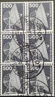 Germany 1975-82 Def Block Of Six Used - [7] Federal Republic