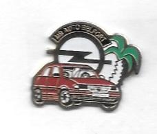 Pin' S  Ville, Automobile  OPEL  ASTRA  Rouge  M B  AUTO  BELFORT  ( 90 ) - Opel