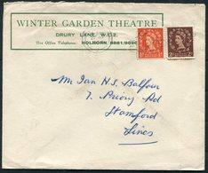 GB Winter Garden Theatre, London / Rootes Car Hire Advertising Cover - 1952-.... (Elizabeth II)