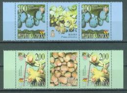 BHRS 2000-160-1 FLORA, BOSNA AND HERZEGOVINA-R.SRPSKA, 2 X 2v + Labels, MNH - Bosnie-Herzegovine