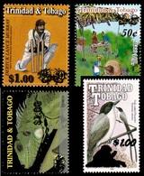 (019) Trinidad + Tobago  Bird / Oiseau / Vogel / Overprints / Surcharges / Rare / Wanted  ** / Mnh Michel - Trinidad & Tobago (1962-...)