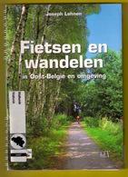 FIETSEN EN WANDELEN IN OOST-BELGIË EN OMGEVING Velo Tour 208pg Fiets Wandeling Oostkantons Eupen Malmedy Hoge Venen Z240 - Prácticos