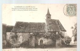 CPA Saint Georges De La Couée (72) Chapelle De Saint Frimbault écrite En 1906 - Autres Communes