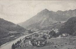 SAN PELLEGRINO-BERGAMO-IL PANORAMA GENERALE-CARTOLINA VIAGGIATA IL 14-7-1921 - Bergamo