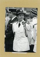 Photo Originale .  NADINE JOLY  En Uniforme Patronne De La Sécurité Du Métro Parisien - Guerre, Militaire