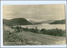 Y13046/ Porsanger Til Skoganvarre - Karasjok  Norwegen Foto AK Ca.1930 Auto  - Norvège