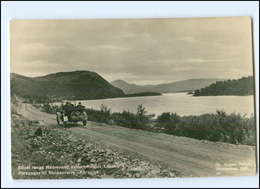 Y13046/ Porsanger Til Skoganvarre - Karasjok  Norwegen Foto AK Ca.1930 Auto  - Norwegen