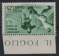 1934 Mondiali Calcio 25 C. MLH - 1900-44 Vittorio Emanuele III