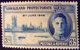 Somaliland 1946 Parlement Parliament Yvert 101 * MH - Somaliland (Protettorato ...-1959)