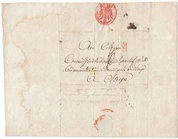 France An 5 Administration De La Police Militaire De Paris Pour Claye (s96) - 1701-1800: Precursores XVIII