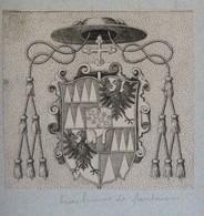 Vignette Héraldique XVIIème - OLMÜTZ (1599-1636) - Ex-libris