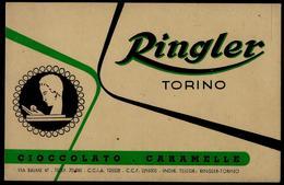 RINGLER - TORINO  CIOCCOLATO -CARAMELLE - Advertising