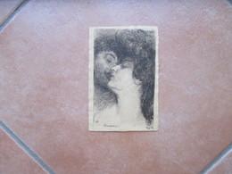 1909 Basilio CASCELLA Consolation Viaggiata - Illustrateurs & Photographes