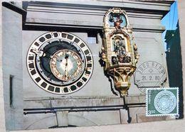 """Schweiz Suisse 1980: Zu 613 Mi 1169 Yv 1091 """"Uhr Am Zytglogge-Turm Bern (Montre Watch)"""" Mit O BERN 21.2.80 - Relojería"""