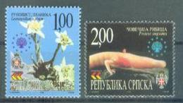 BHRS 2000-183-4 SAVE NATURE, BOSNA AND HERZEGOVINA-R.SRPSKA, 1 X 2v, MNH - Pflanzen Und Botanik