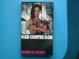LIVRE - SAS  Numéro 105 - - - KGB CONTRE KGB - Gérard De Villiers - Gerard De Villiers