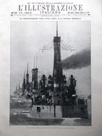L'Illustrazione Italiana 8 Aprile 1917 WW1 Stati Uniti Guerra Sommaruga Behring - Guerra 1914-18
