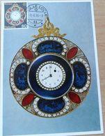 """Schweiz Suisse 1976: Zu 577 Mi 1074 Yv 1004 """"alte Taschen-Uhr Montre De Poche Antique Pocket-watch"""" O LE LOCLE 3.6.76 - Relojería"""