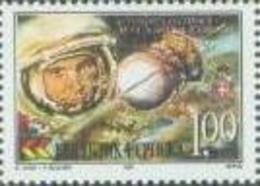 BHRS 2001-197 40A°FIRST FLY IN SPACE, BOSNA AND HERZEGOVINA-R.SRPSKA, 1 X 1v, MNH - Raumfahrt