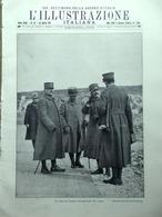 L'Illustrazione Italiana 22 Aprile 1917 WW1 Foch Venezia Nero Primo Levi Samara - Guerra 1914-18