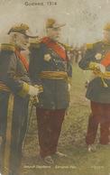 General Pau Et Amiral Touchard Né à Versailles Mort à Sissach Envoi Aux Bourdelins Cher 1914 . Coins Arrondis - BL Basel-Land