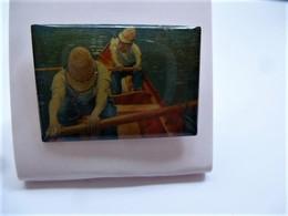 PINS Gustave Caillebotte Les Canotiers / éditions Atlas  Art Peinture Tableau / 33NAT - Personnes Célèbres