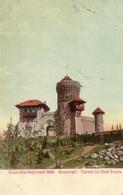 ROUMANIE BUCAREST EXPOSITIA NATIONALA 1906 TURNUL LUI VLAD-TEPES - Romania