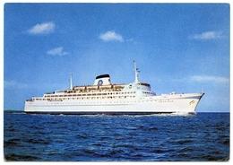 SWEDISH LLOYD M.S. PATRICIA - PASSENGER CAR FERRY, SOUTHAMPTON - BILBAO (10 X 15cms Approx.) - Ferries