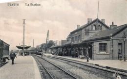 Huy - Statte - La Station - Le Train - Feldpostkarte - Huy
