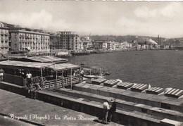 NAPOLI-BAGNOLI-LA PIETRA RIVIERA-CARTOLINA VERA FOTOGRAFIA VIAGGIATA IL 16-9-1954 - Napoli