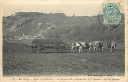 SYAM-la Fumure Des Champs Sur Le Deuxième Plateau - France