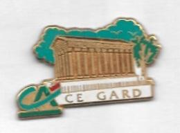 Pin' S  Département, ARTHUS  BERTRAND, Banque  CRÉDIT  AGRICOLE  C.E  Du  GARD  ( 30 ) - Arthus Bertrand