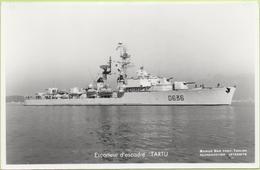 Escorteur D'escadre   TARTU   / Photo Marius Bar, Toulon / Marine - Bateaux - Guerre - Militaire - Guerre
