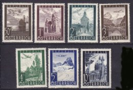 AUTRICHE -Série De 1947 Neuve TTB - Airmail