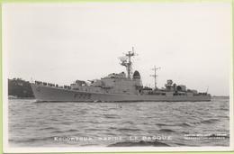 ESCORTEUR RAPIDE   LE BASQUE   / Photo Marius Bar, Toulon / Marine - Bateaux - Guerre - Militaire - Guerre