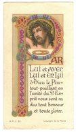 MOUCHARD SOUVENIR Alain MUSSILLON LUI AVEC LUI ET EN LUI IMAGE PIEUSE RELIGIEUSE HOLY CARD SANTINI HEILIG PRENTJE - Imágenes Religiosas