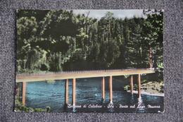 Bellere Di CALABRIA - SILA, Ponte Sul Lago MUCONE - Altre Città