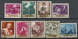 Espagne 1968  Série Fortuny  9 Val /10  Oblitérés - 1961-70 Oblitérés