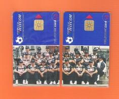 "PUZZLE 2 CHIPCARD PORTUGAL ""EURO '96 I -II""  - MINT/SEALED - Portugal"