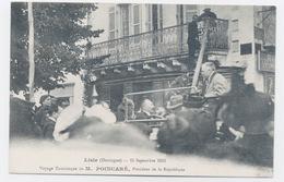 LISLE 24 DORDOGNE PERIGORD VOYAGE DU PRÉSIDENT DE LA RÉPUBLIQUE  M.POINCARÉ LE 13/09/1913 - Otros Municipios